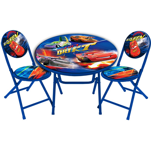 Disney Cars Round Table and Chair Set  sc 1 st  Walmart & Disney Cars Round Table and Chair Set - Walmart.com