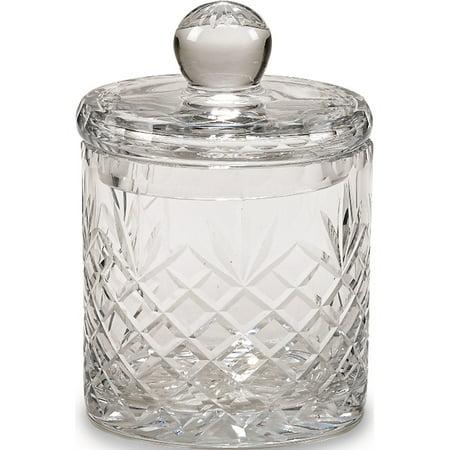 Optic Crystal 6.5inch Medallion II Jar with Lid (4.25x4.25mm) - image 1 of 1