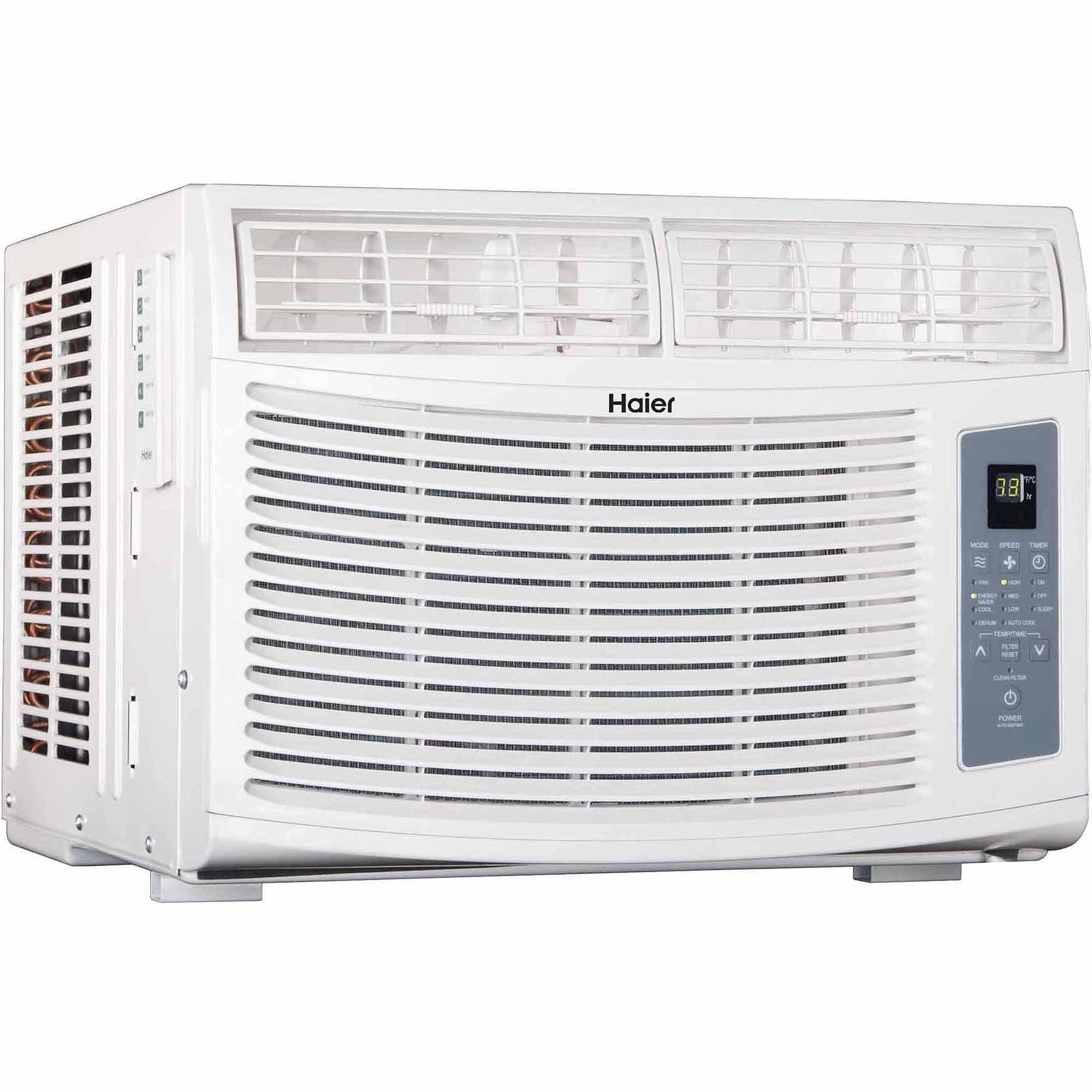 Haier ESA410N-L 10,000-BTU Air Conditioner, White - Walmart.com on