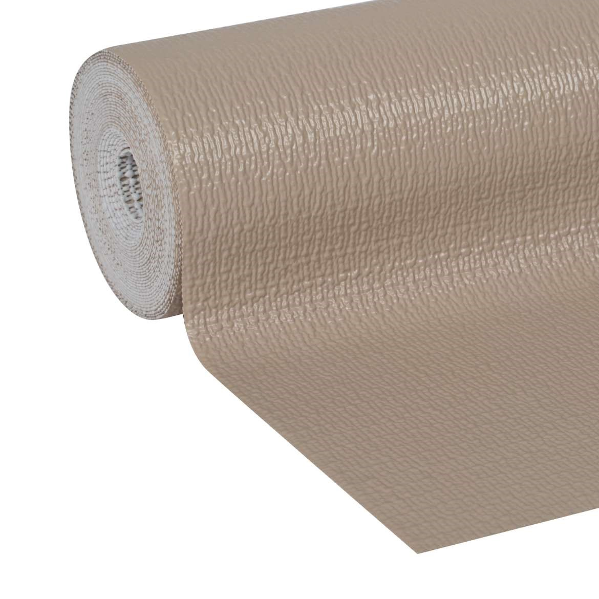 Duck Easy Liner Brand Shelf Liner Smooth Top, Taupe, 12 In x 20 Ft