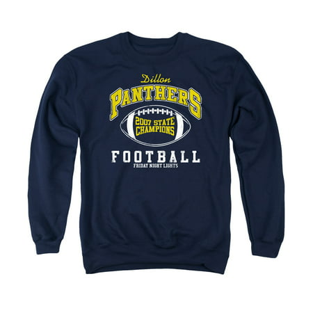 FRIDAY NIGHT LIGHTS/STATE CHAMPS - ADULT CREW SWEAT - NAVY - 2X - NAVY -