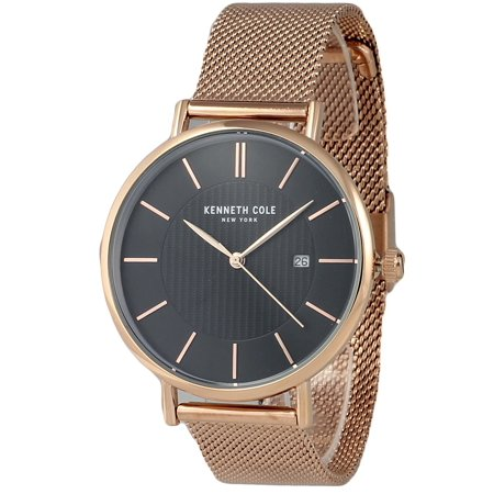 Kenneth Cole Men's Rose Gold-Tone Watch KC50037009 (Kenneth Cole Watches Rose Gold)