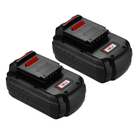 Powerextra 2 Pack 18V 3000Mah Replacement Battery For Porter Cable Pc18b 2 Cordless Tools 18 Volt Ni Cd Batteries