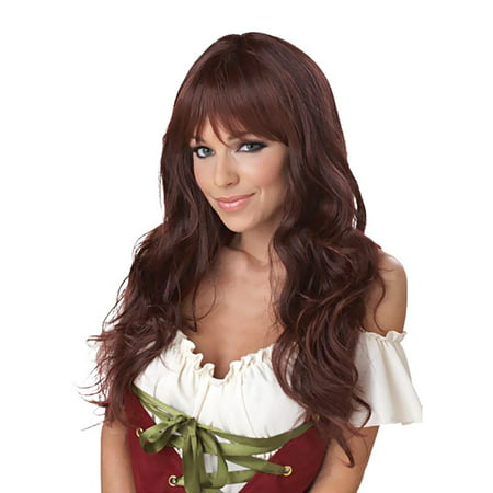 Coquette (Brunette) Adult Wig - Tangled Wig For Adults