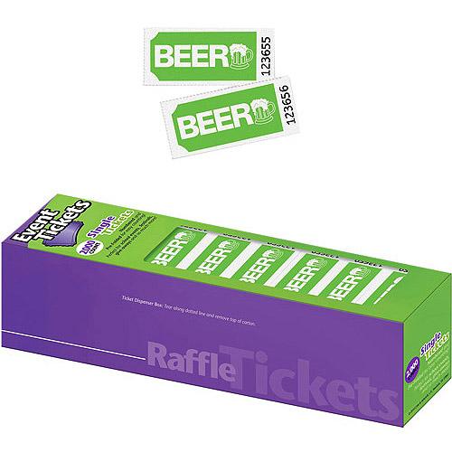 The Big Event Beer Ticket, Single Part