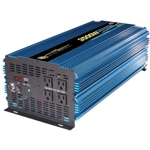 Power Bright PW3500-12 Power Inverter 3500 Watt 12 Volt DC To 110 Volt AC Power Bright PW3500-12 Power Inverter 3500 Watt 12 Volt DC To 110 Volt AC