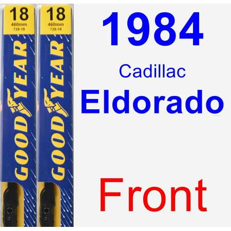- 1984 Cadillac Eldorado Wiper Blade Set/Kit (Front) (2 Blades) - Premium