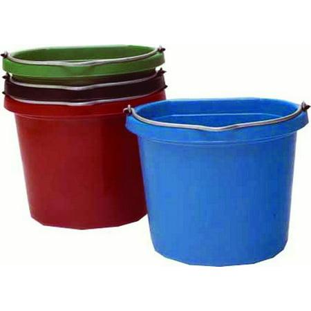 Fortex Industries Inc-Flat Back Bucket- Black 14 (Fortex Industries Flex Bucket)