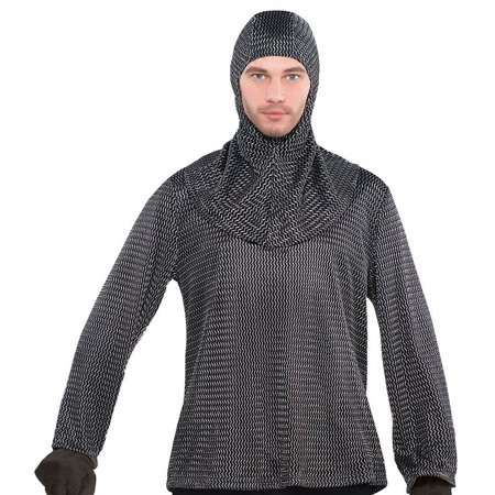 Mail Order Bride Costume (Chain Mail Tunic and Hood Adult Costume -)