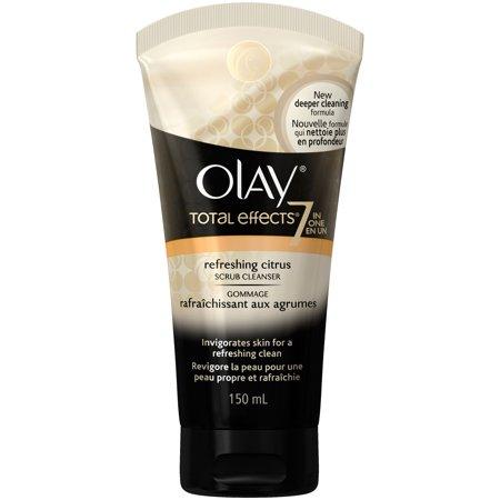Olay Total Effects Refreshing Citrus Scrub Cleanser, 5.0 fl oz