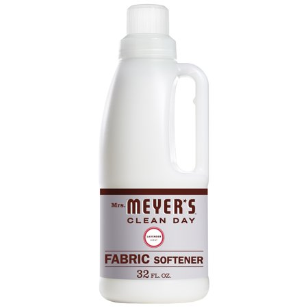 Mrs. Meyer's Clean Day Liquid Fabric Softener, Lavender Scent, 32 ounce bottle (Meter Softener)