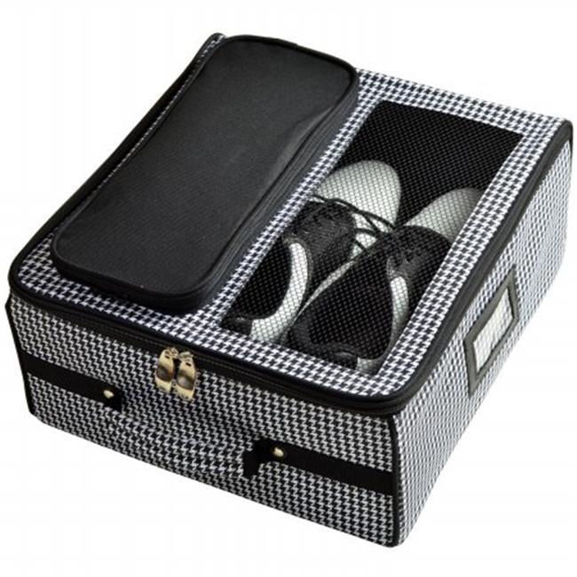 Picnic at Ascot 8011-HT Golf Trunk Organizer -Houndstooth