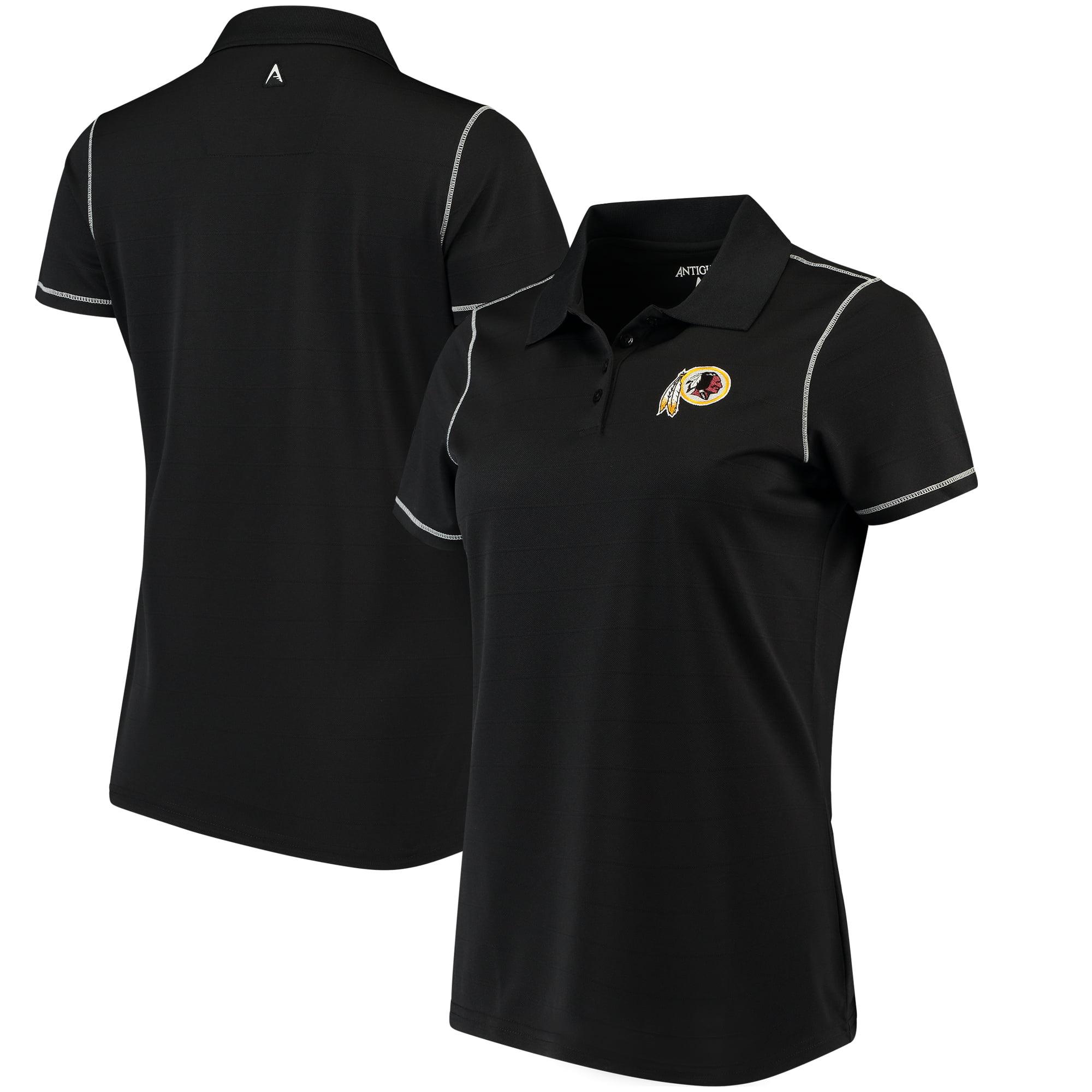 Washington Redskins Antigua Women's Icon Polo - Black
