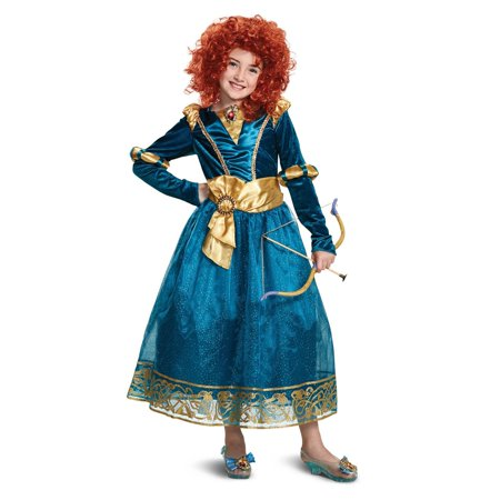 Brave Merida Deluxe Child Costume - Brave Merida Dress