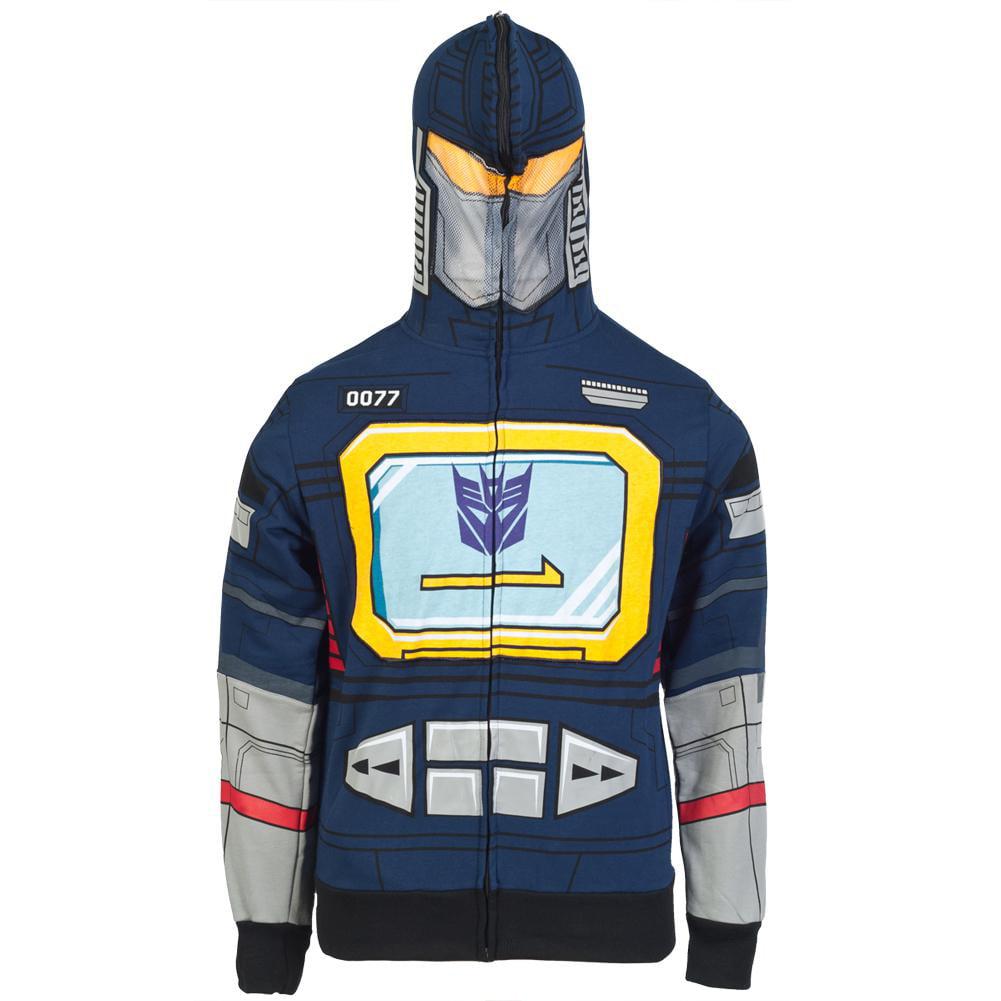 Transformers - I Am Soundwave Costume Zip Hoodie