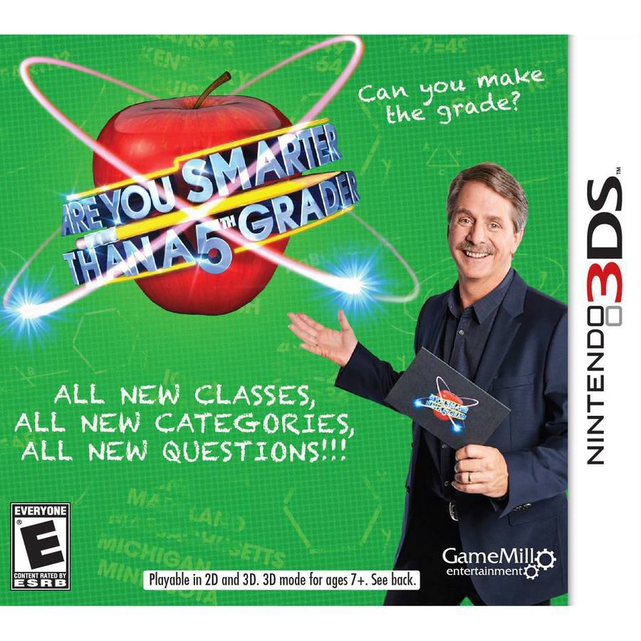 Are You Smarter Than A 5Th Grader? (Nintendo 3DS)