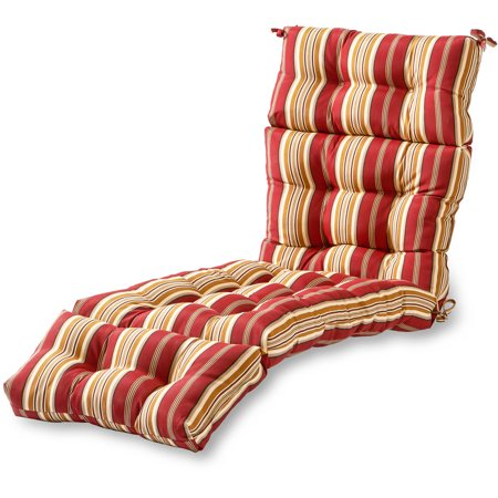 Greendale home fashions 72 outdoor chaise lounger cushion for 23 w outdoor cushion for chaise