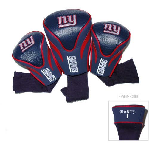 Team Golf NFL New York Giants 3 Pack Contour Head Covers