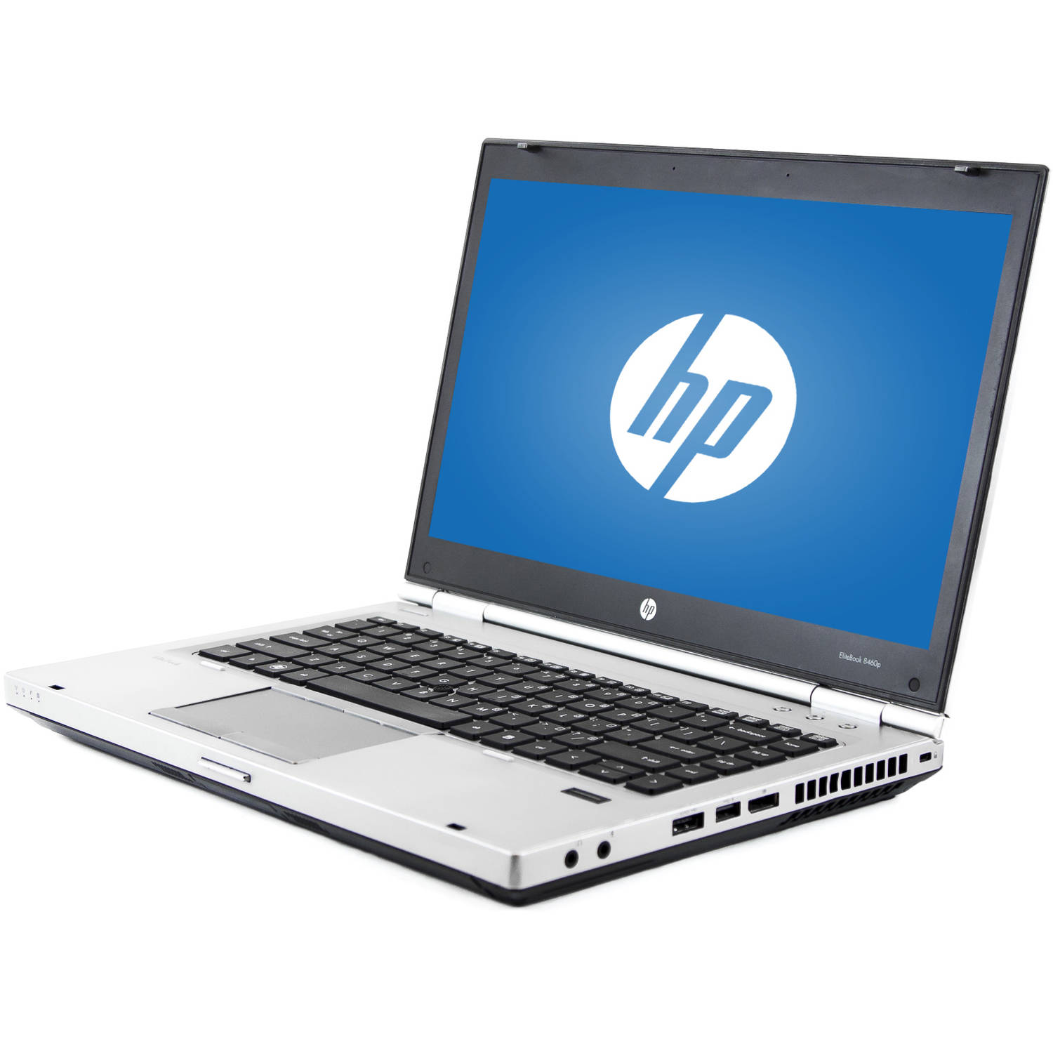 "Refurbished HP Silver 14"" EliteBook 8460P WA5-0942 Laptop PC with Intel Core i5-2520M Processor, 16GB Memory, 256GB Solid State Drive and Windows 10 Pro"