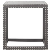 Lena End Table in Grey