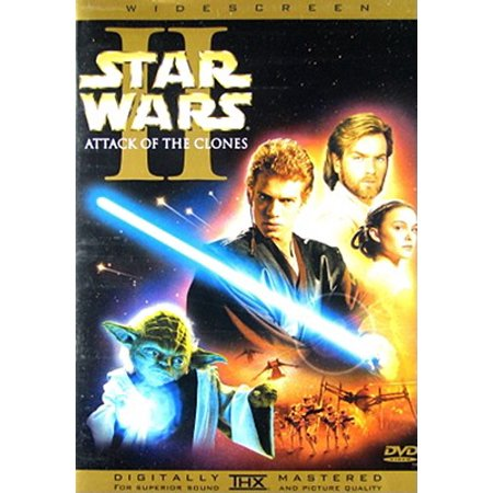 Star Wars: Episode II - Attack Of The Clones Widescreen (DVD) - Out Of The Box Halloween Episode