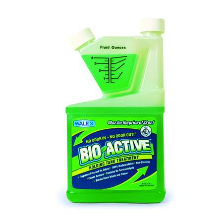 Bio-Active Liquid RV/Marine Holding Tank Deodorizer, 40 oz