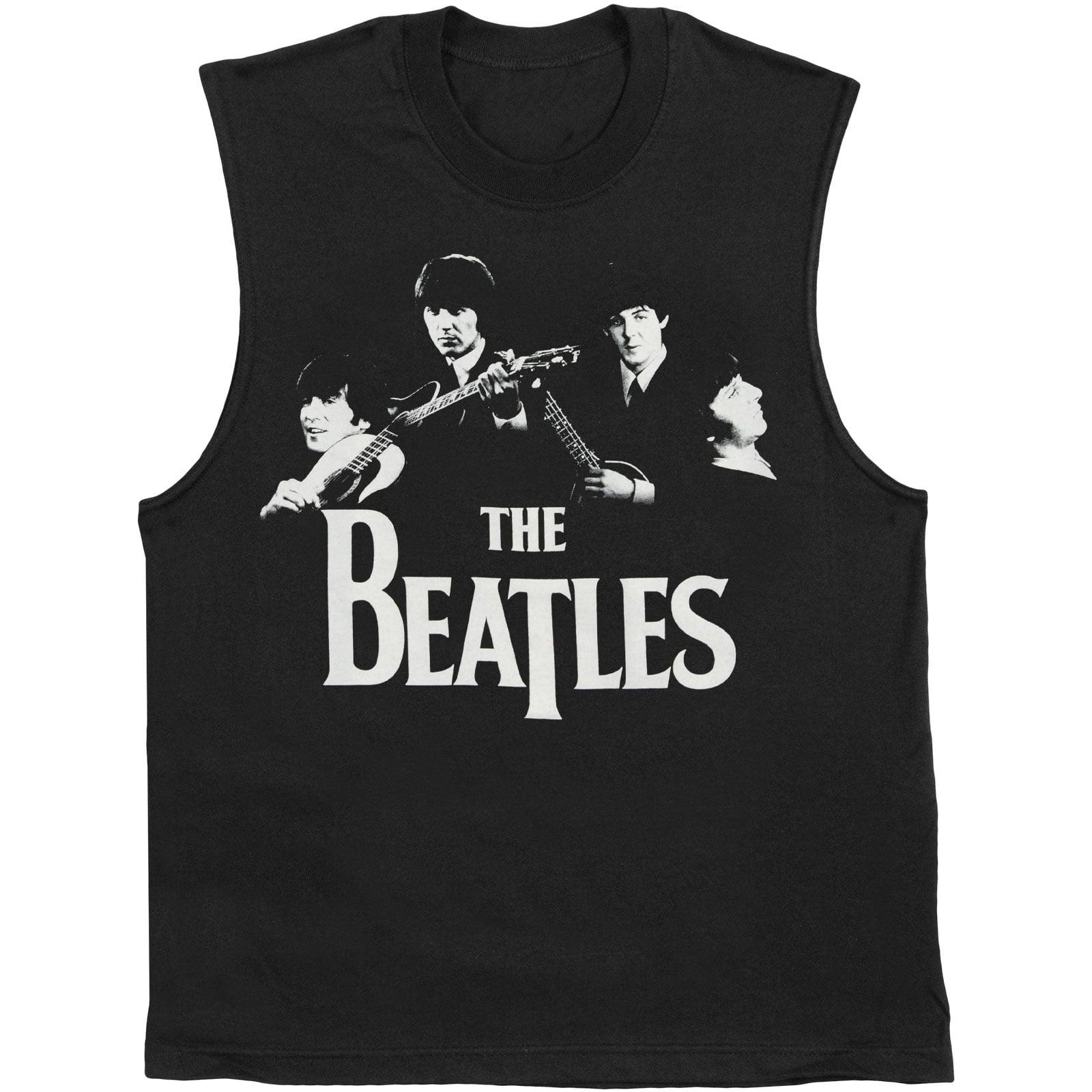 Beatles Men's Classic Photo Mens Tank Black by