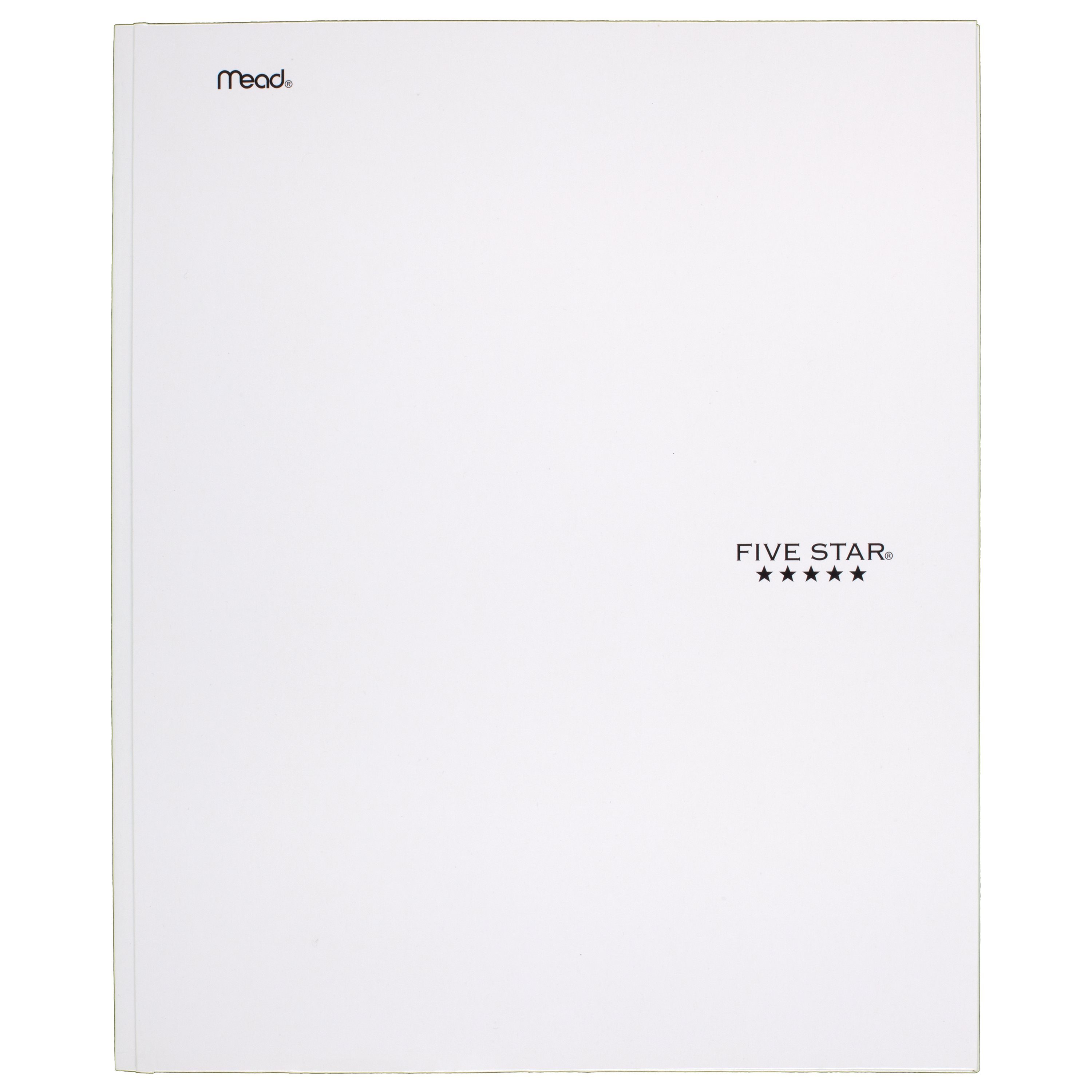 Five Star Pocket and Prong Paper Folder, White (72496) by ACCO BRANDS