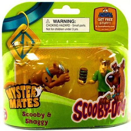 Scooby Doo Mystery Mates Scooby & Shaggy Mini Figure - Shaggy Scooby Doo Wig
