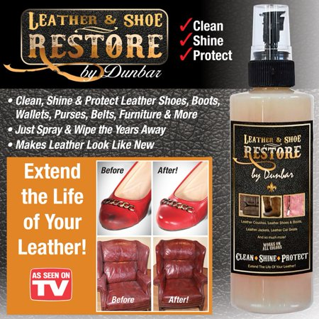 Leather & Shoe Restore Protective Spray (Best Spray Paint For Leather Shoes)