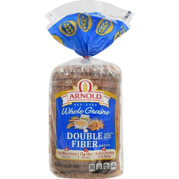 Whole Grains Double Fiber Bread 24 oz
