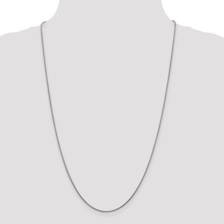 925 Sterling Silver 1.2mm Round Snake Chain 30 Inch - image 1 of 5