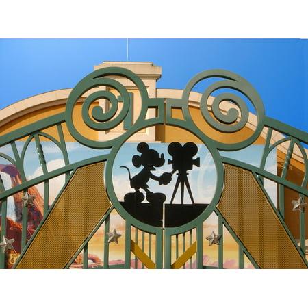 Peel-n-Stick Poster of Paris Disneyland Disneyland Paris Theme Poster 24x16 Adhesive Decal