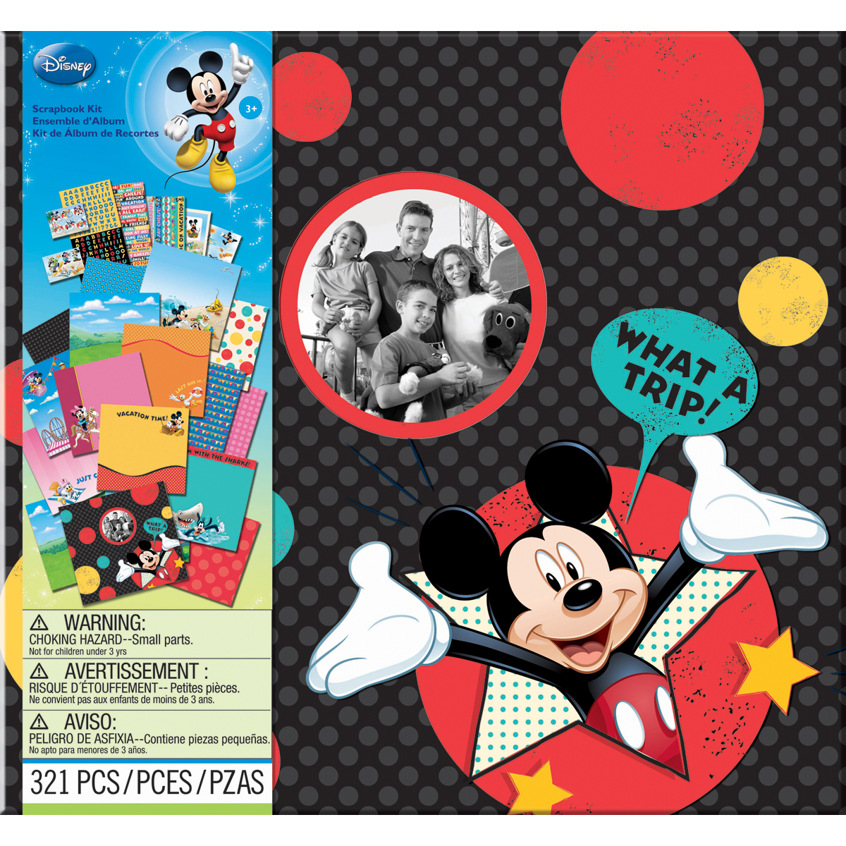 "Disney Vacation 12"" x 12"" Scrapbook Kit"
