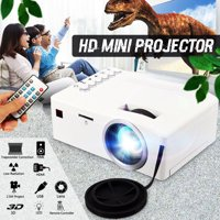 UNIC 1080P Mini Portable LED Home Theater Digital Projector Compact Media Video Projector 400Lux Supported For Game Movie PS4/ TV Stick/USB/TV Box