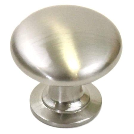 1-1/4 inch Round Circular Design Stainless Steel Brushed Nickel Finish Cabinet and Drawer Knobs Handles (Case of 10) -