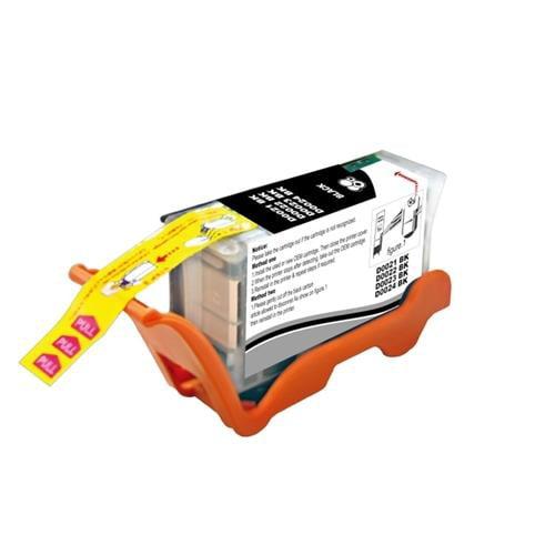 Insten 4 PACK BLACK INK CARTRIDGE SERIES 21 22 FOR DELL Photo All-In-One P513w P713W V313 V313w V515w V715w