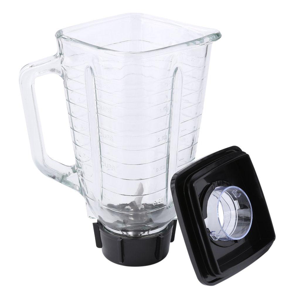 Mixer Replacement Accessories Set 1.25L Top Glass Jar Blending Cup Blade