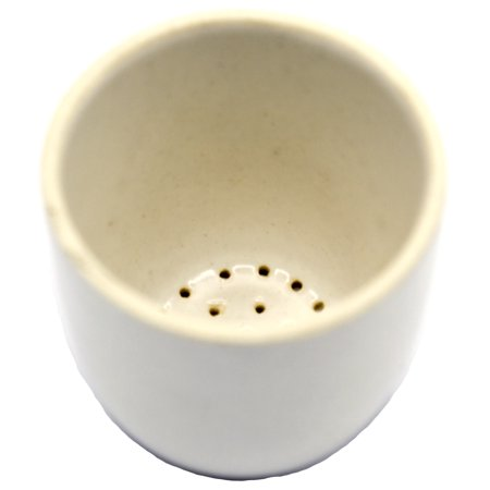 Cruicble Gooch, Porcelain Filtering Crucible, 30ml Capacity - Eisco -