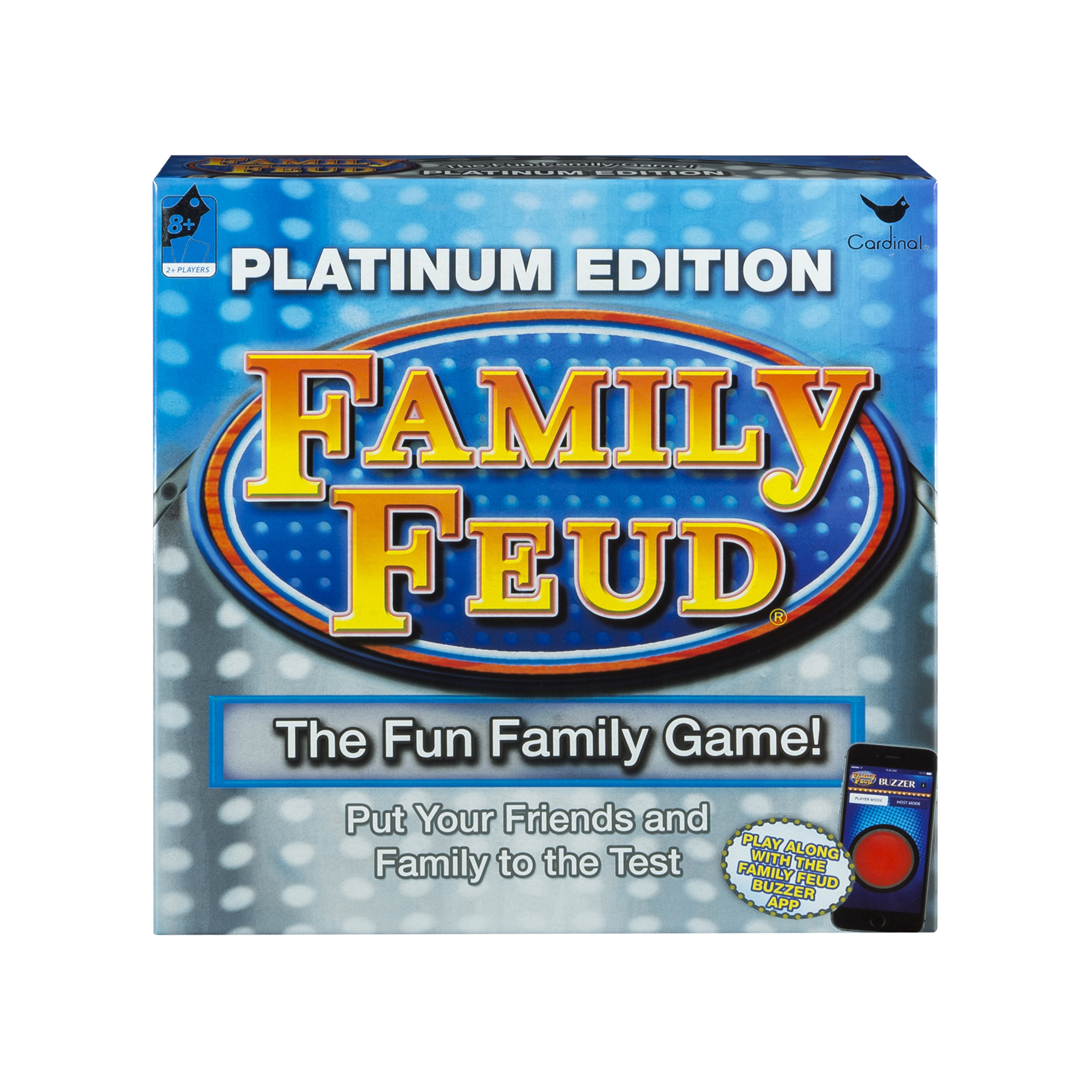 Cardinal Games Platinum Edition Family Feud Board Game by Cardinal Games