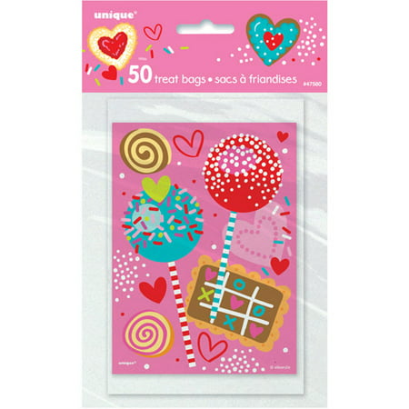 Sweet Valentine Treat Bags, 50-Count](Valentines Treats)