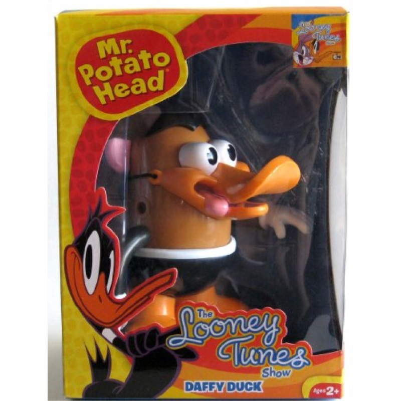 PPW Looney Tunes Daffy Duck Mr. Potato Head Toy Figure by