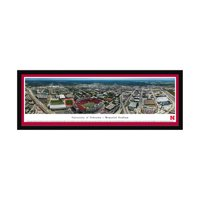 "Nebraska Cornhuskers 42"" x 15.5"" Aerial Select Frame Panoramic Photo - No Size"