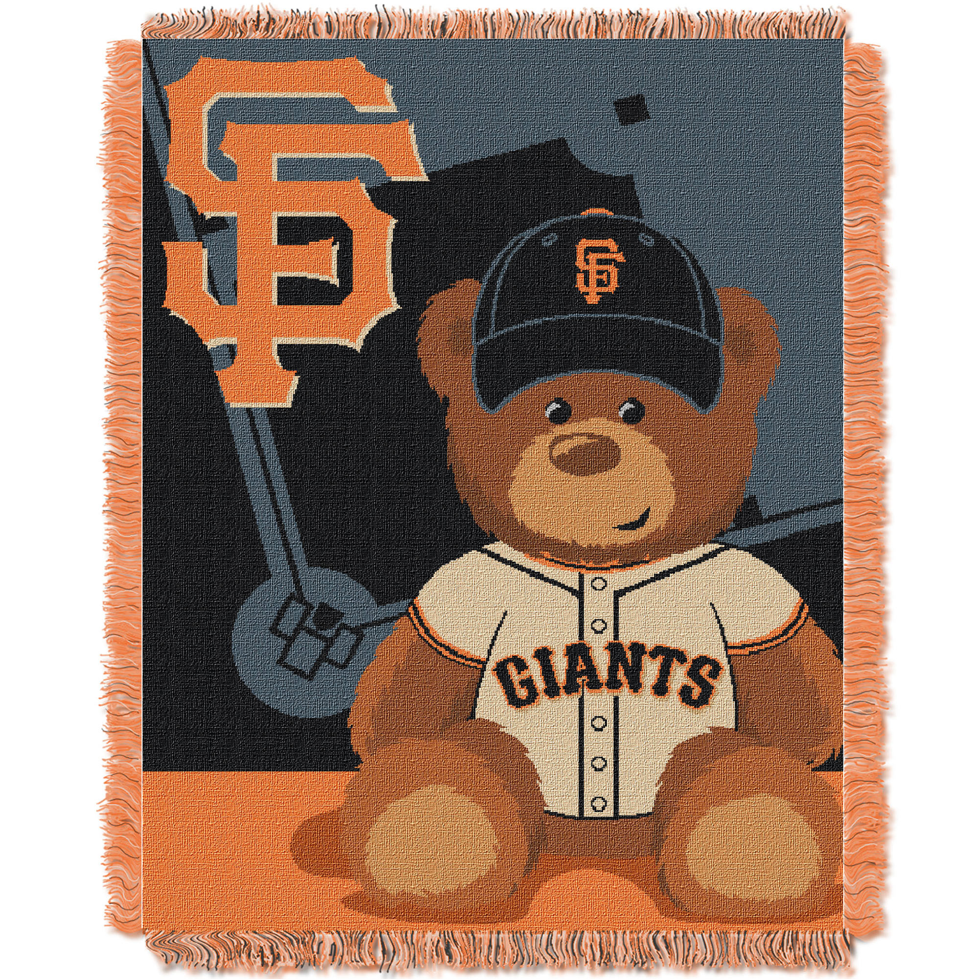 San Francisco Giants The Northwest Company 36'' x 46'' Baby Jaquard Throw - No Size