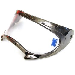 Replacement for PART-4232-880 ARCTIC CAT TXI HELMET REPLACEMENT SHIELD - CHROME FRAME WITH CLEAR