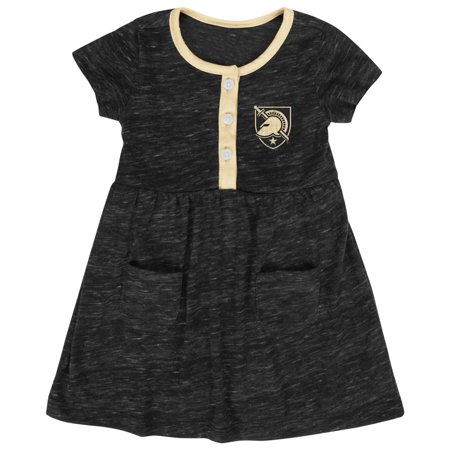 Infant Girls' Army Black Knights Dress Baby Clothes (Girl Armor)