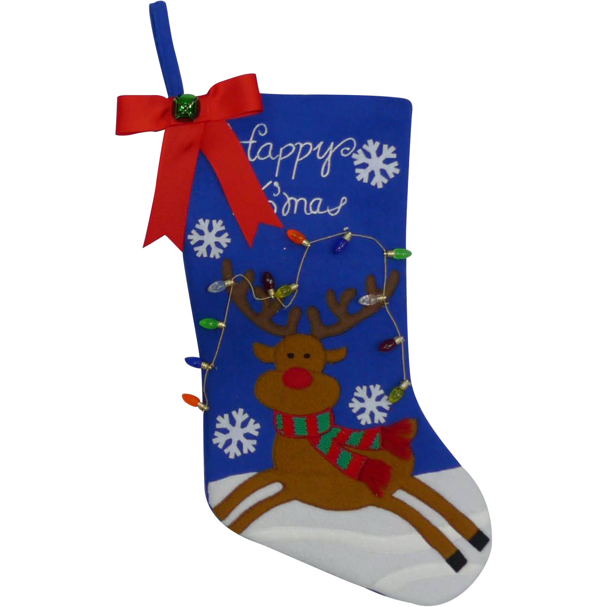 Blue Christmas Stockings - Walmart.com