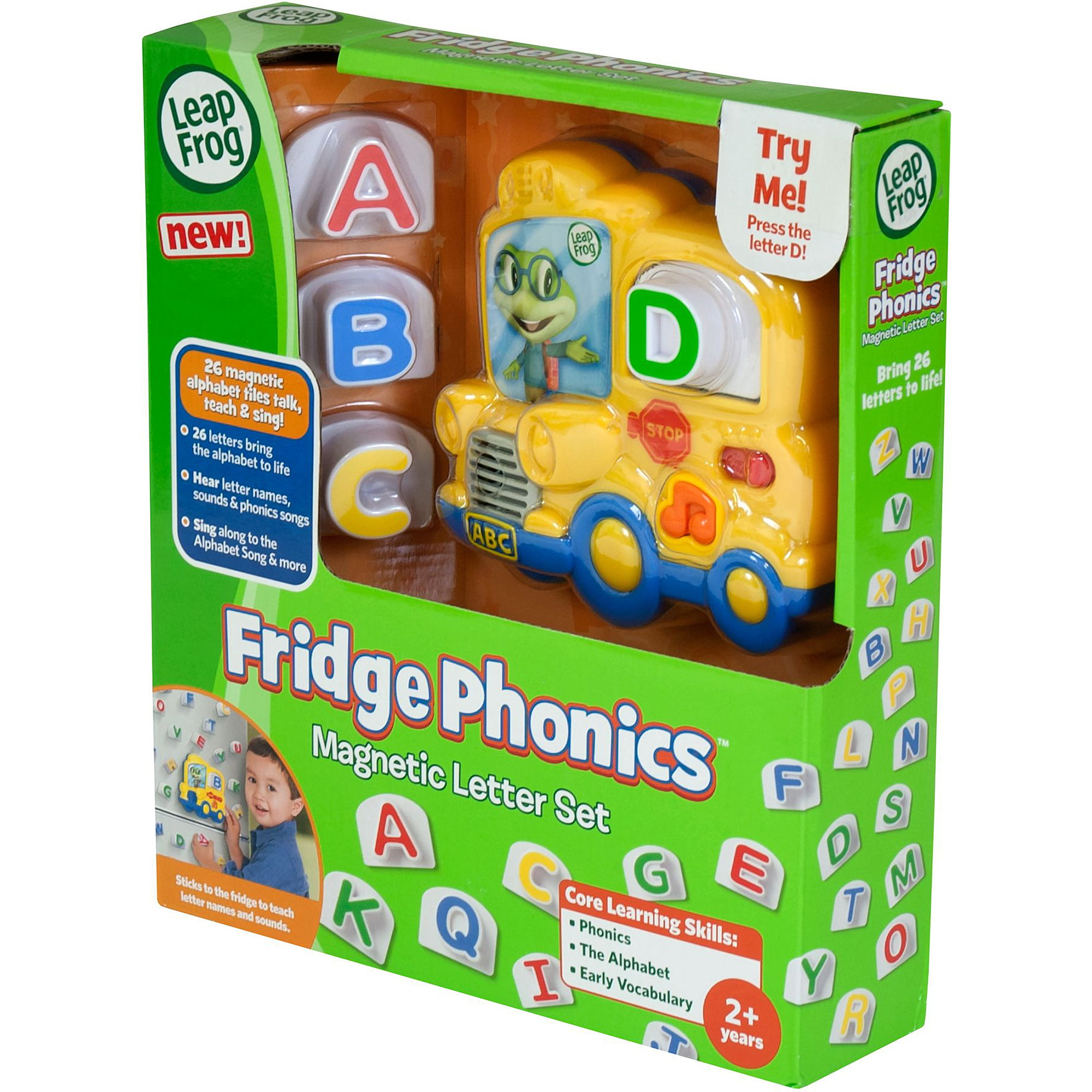 leapfrog fridge phonics magnetic letter set walmartcom