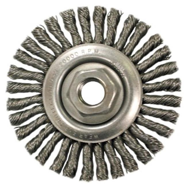 Anderson Brush 066-11145 Stcm102-.020 Knot Type Wire Wheel Brush