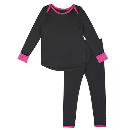 Polycore Warm Layering Long Underwear (Toddler - Girls In Cat Suits